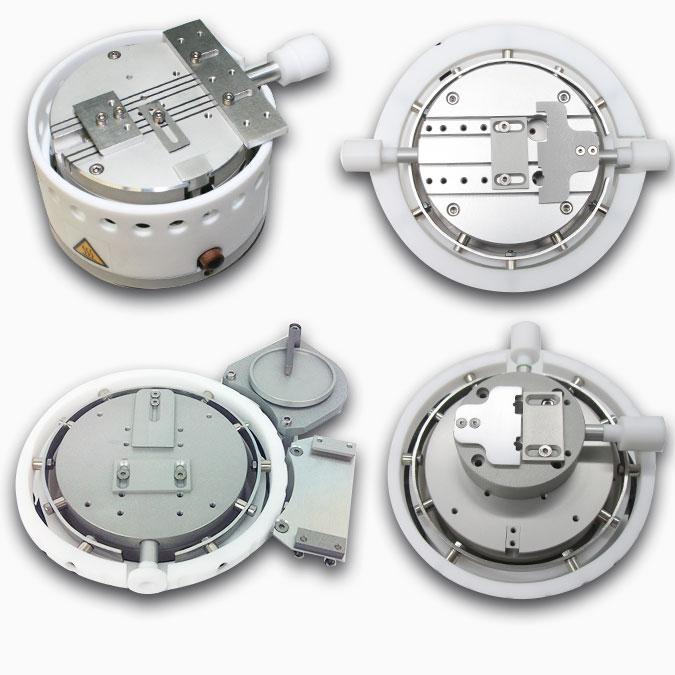 TPT Wire Bonder - Wire Bonder - Drahtbonder Heiztisch Heaterstage Aufsatzplatten Optionen Topplate Options