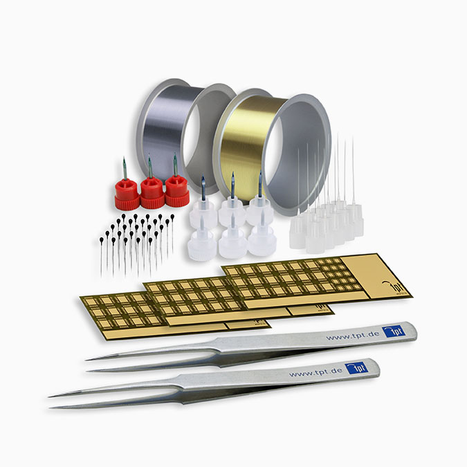 TPT Wire Bonder - Wire Bonder - Drahtbonder Bonddrähte und Bondwerkzeuge - Bond Wire and Bond Tools - H69-1 Starter Kit Wedge & Ball Bonder