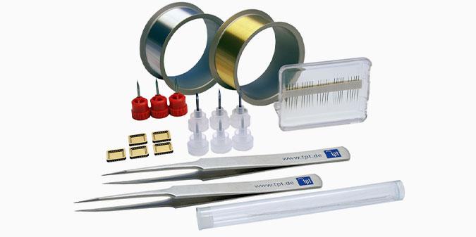TPT Wire Bonder - Wire Bonder - Drahtbonder Bonddrähte und Bondwerkzeuge - Bond Wire and Bond Tools - H69-1 Starter Kit - Starter Set